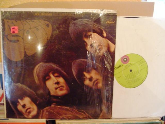 THE BEATLES - RUBBER SOUL - CAPITOL GREEN USA { 1445