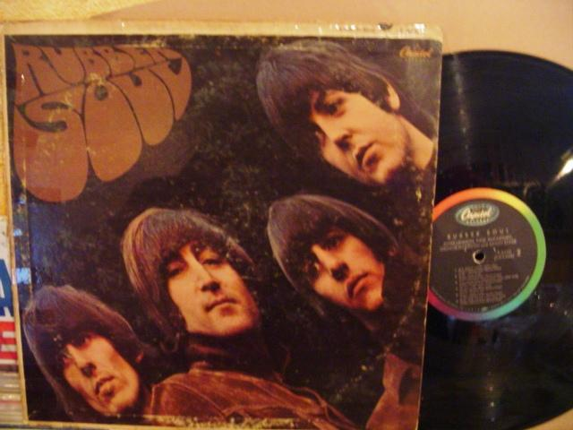 THE BEATLES - RUBBER SOUL - CAPITOL USA { 1447
