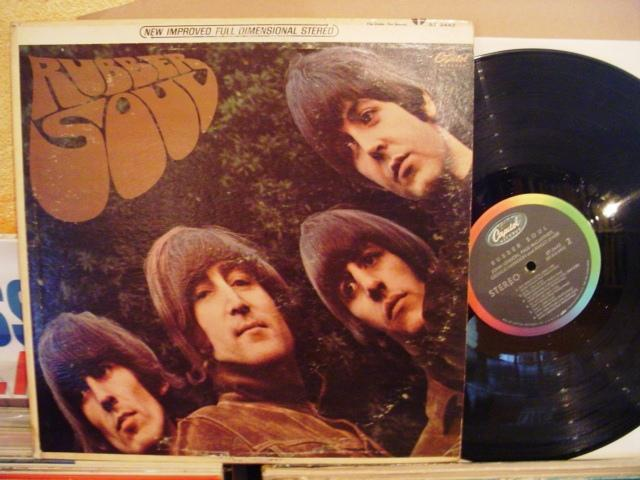 THE BEATLES - RUBBER SOUL - CAPITOL USA { 1436