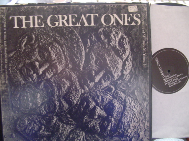 THE GREAT ONES - ACHIVEMENTS OF BLACK AMERICANS - 3LP