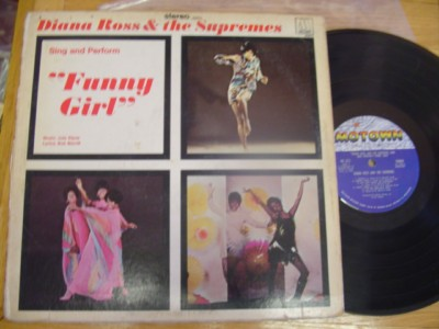 THE SUPREMES - FUNNY GIRL - MOTOWN