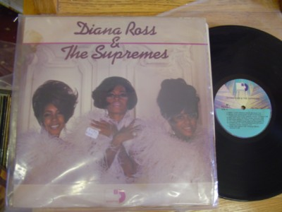 THE SUPREMES - SELF TITLE - SESSIONS 3LP