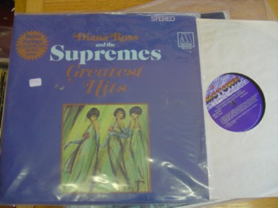 THE SUPREMES - GREATEST HITS REISSUE - MOTOWN 2LP
