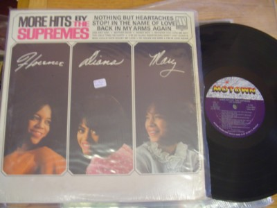 THE SUPREMES - MORE HITS BY - MOTOWN