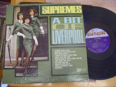 THE SUPREMES - BIT OF LIVERPOOL - MOTOWN