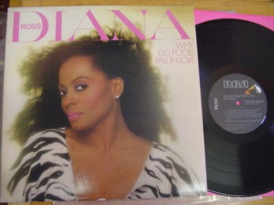 DIANA ROSS - WHY DO FOOLS - RCA