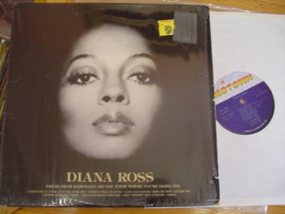 DIANA ROSS - SELF TITLE - MOTOWN
