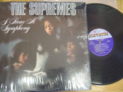 THE SUPREMES - I HEAR SYMPHONY - MOTOWN