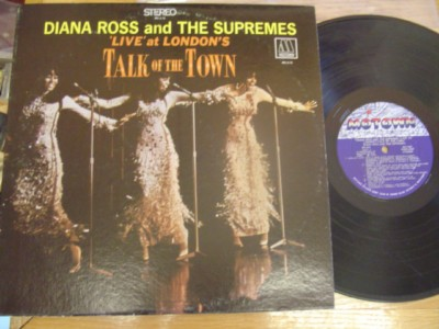 THE SUPREMES - TALK OF TOWN - MOTOWN