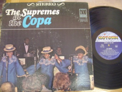 THE SUPREMES - AT THE COPA - MOTOWN