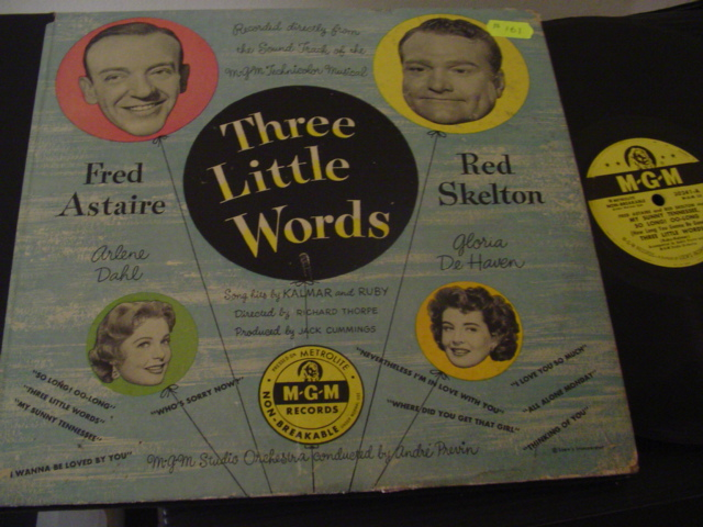 THREE LITTLE WORDS - ASTAIRE & SKELTON - MGM 78 RPM SET