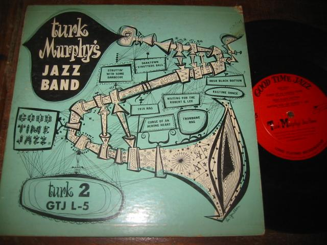 TURK MURPHY - SIGNED - GOOD TIME JAZZ L 5