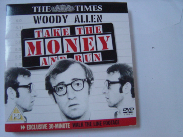 Take the money and run - Woody Allen - Sunday Times DVD