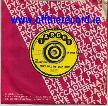 Target 7N17700 - The Philosophers - 1969