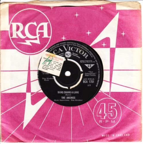 The Archies - Truck Driver - RCA UK PRESSING 3528