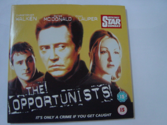 The Opertunists - Walken , Lauper - Irish Star DVD