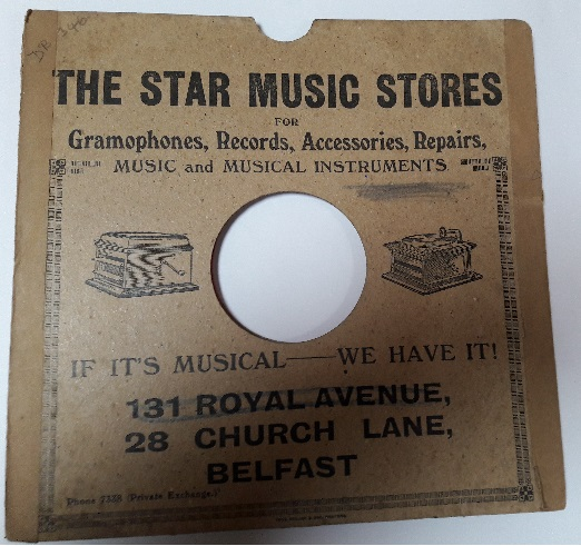 The Star Music Store - 131 Royal Avenue & Church Lane Belfast