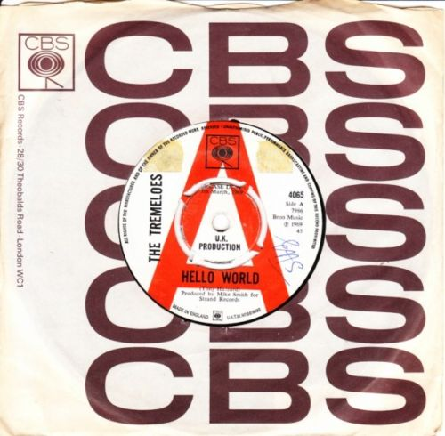 The Tremeloes - Hello World - CBS Demo 2878