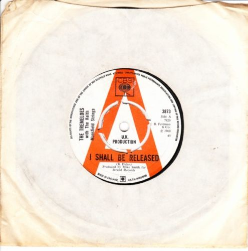 The Tremeloes - I shall be Released - CBS Demo 2876