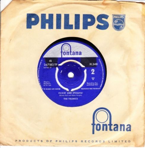 The Tronics - Cantina / Pickin & Stompin - Fontana UK 3628