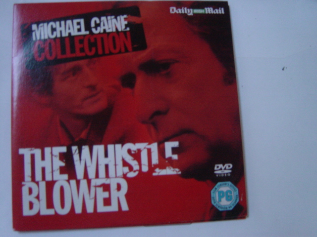 The Whistle Blower - Michael Caine - Daily Irish Mail DVD