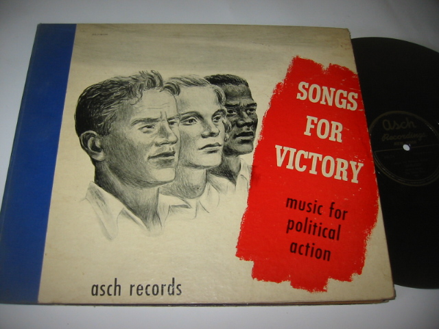 THE UNION BOYS - SONGS OF VICTORY - GUTHRIE - ASCH { 52