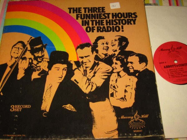 VARIOUS - 3 FUNNIEST HOURS RADIO - MURRAY HILL 3LP { 131