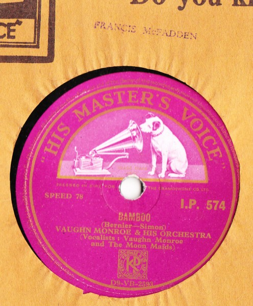 Vaughn Monroe - Its Easter Time - HMV IRISH