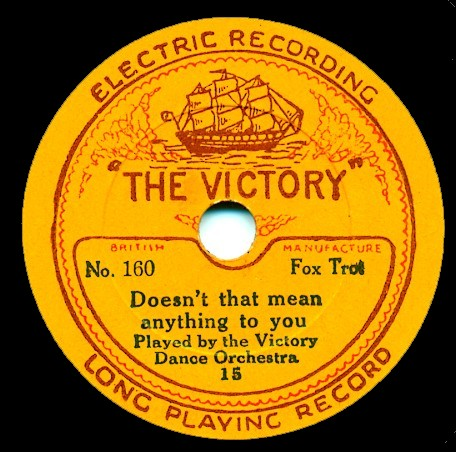 Victory Records 248 - Victory Dance Orchestra / Aldwich Players
