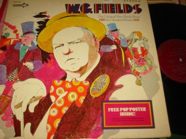 W.C. FIELDS - VOICES FROM MOVIES - DECCA { 140