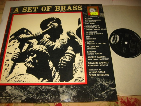 WESTMINSTER - A SET OF BRASS - 3 LP SET