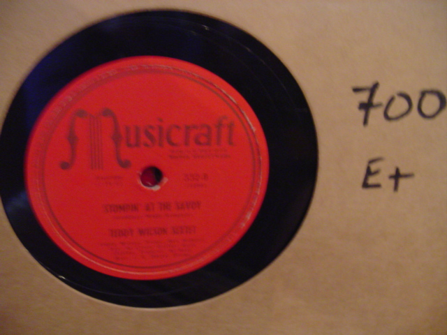 TEDDY WILSON - MUSICRAFT 332 - [ 700