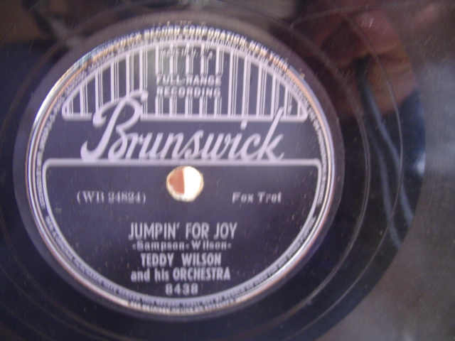 TEDDY WILSON - JUMPIN FOR JOY - BRUNSWICK