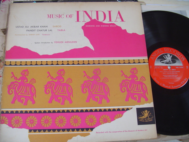 ALI AKBAR KHAN & CHATUR LAL - MUSIC INDIA - ANGEL