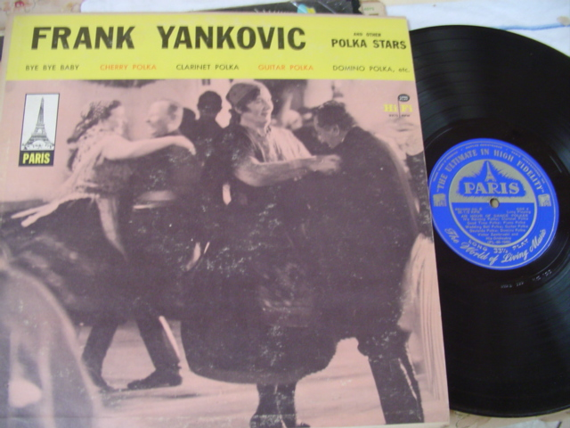 FRANK YANKOVIC - POLKA - PARIS RECORDS