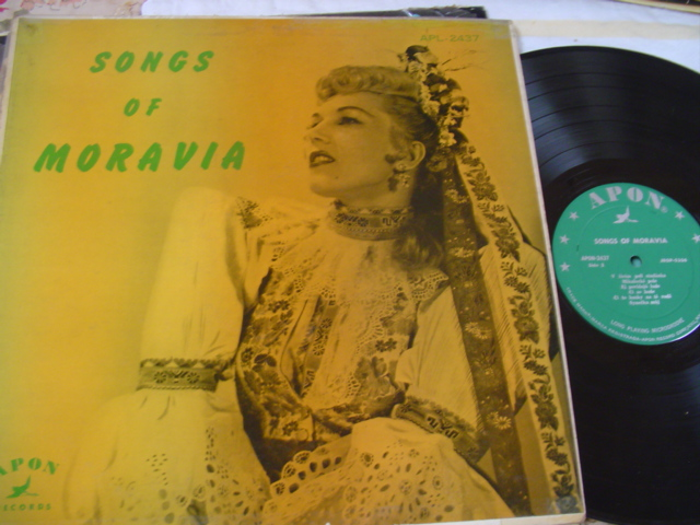 SONGS OF MORAVIA - APON RECORDS