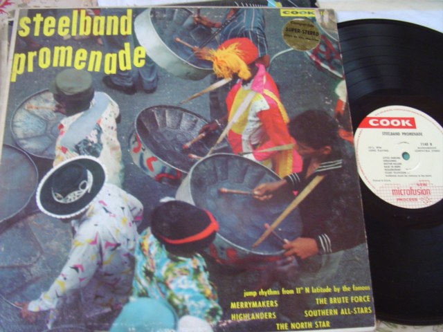 WEST INDIES - STEELBAND PROMENADE - COOK RECORDS