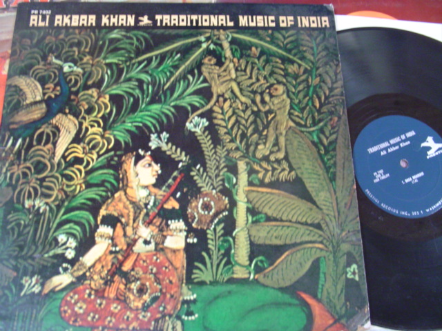 ALI AKBAR KHAN - MUSIC OF INDIA - PRESTIGE