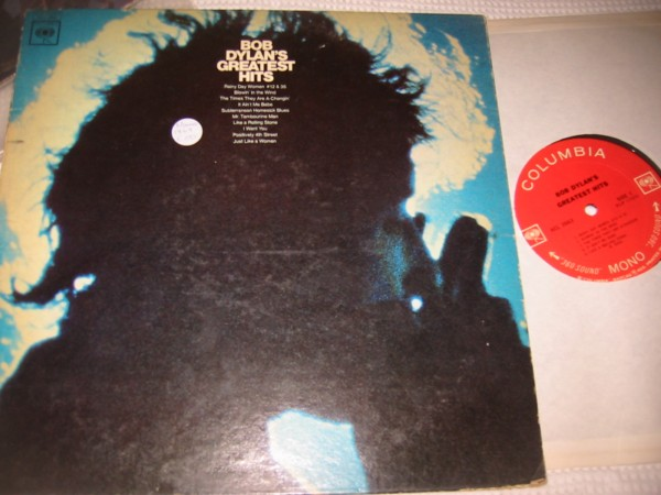 BOB DYLAN - GREATEST HITS - COLUMBIA MONO { Z 318