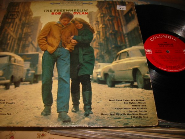 BOB DYLAN - FREEWHEELIN - COLUMBIA { Z 319