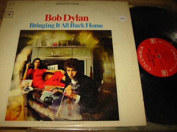 BOB DYLAN - BRINGING ALL BACK - 2 EYE COLUMBIA { Z 328