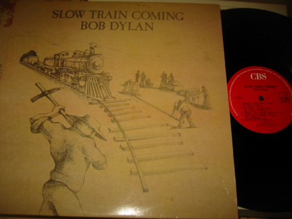 BOB DYLAN - SLOW TRAIN COMING - CBS UK { Z 338
