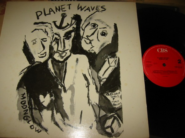 BOB DYLAN - PLANET WAVES - CBS { Z 341