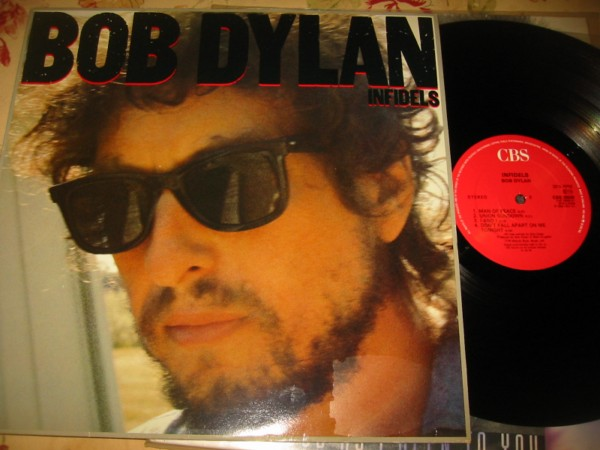 BOB DYLAN - INFIDELS - CBS UK { Z 355