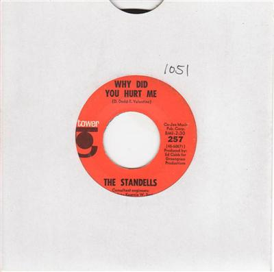 THE STANDELLS - GOOD GUYS DONT WEAR WHITE - TOWER 1051