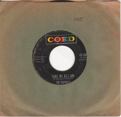 THE DUPREES - OU BELONG TO ME - COED { 1105