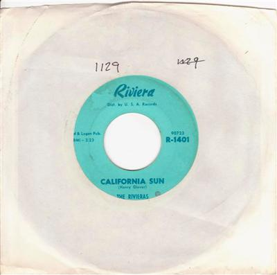 THE RIVIERAS - CALIFORNIA SUN - RIVERIA { 1129