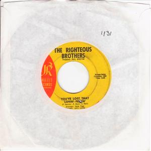 RIGHTEOUS BROTHERS - YOUVE LOST LOVING FEELING { 1131