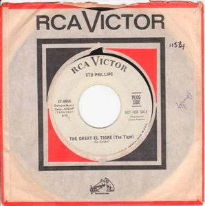 STU PHILLIPS - THE GREAT EL TIGRE - RCA PROMO [ 1154