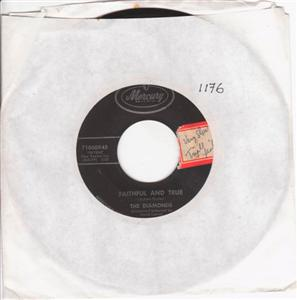 THE DIAMONDS - LITTLE DARLIN - MERCURY { 1176